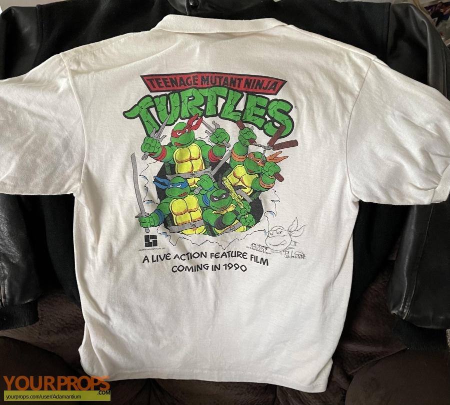 Teenage Mutant Ninja Turtles original film-crew items