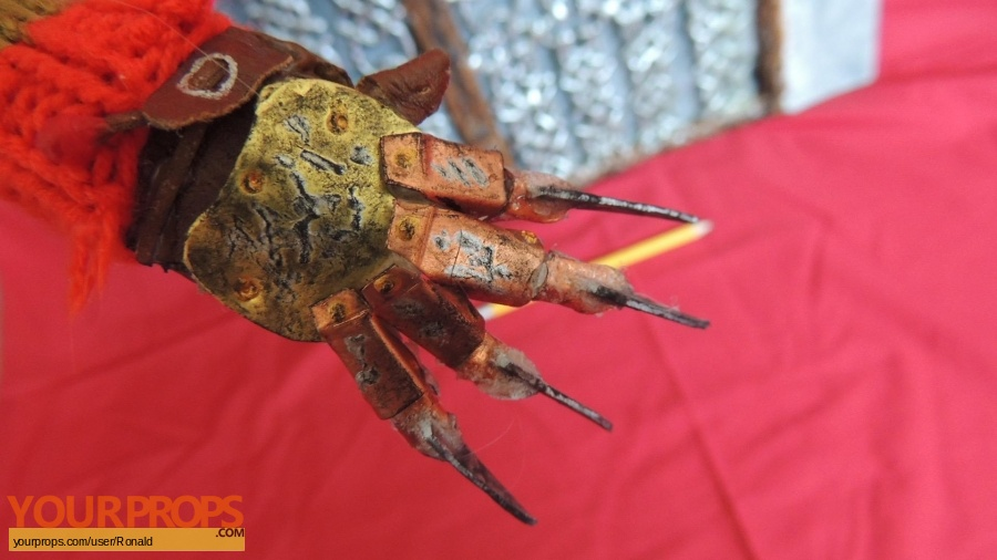 A Nightmare On Elm Street 4  The Dream Master made from scratch model   miniature