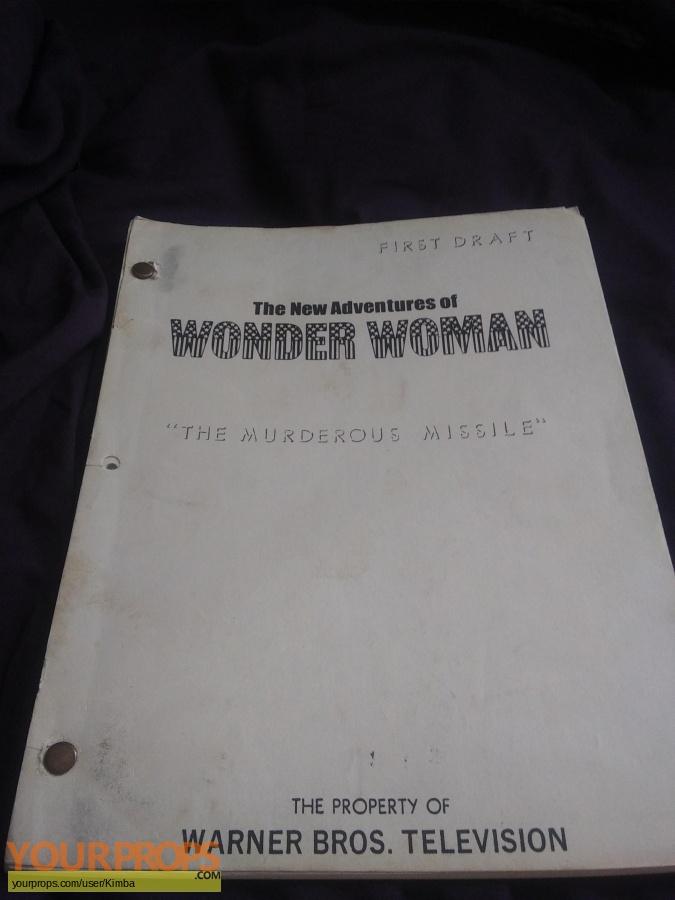 Wonder Woman original production material