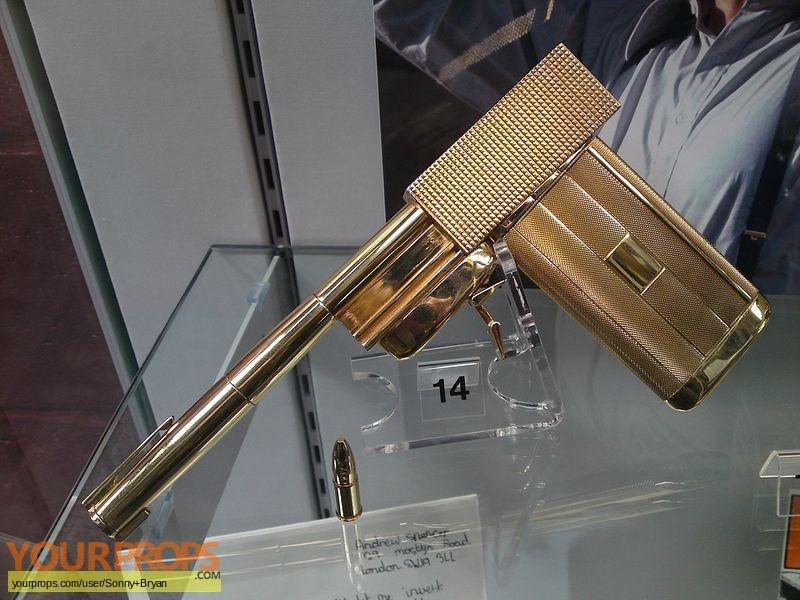 James Bond  The Man With The Golden Gun original movie prop weapon