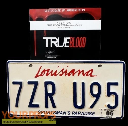 True Blood original movie prop