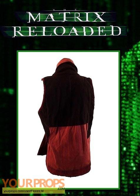 The Matrix Reloaded original movie costume