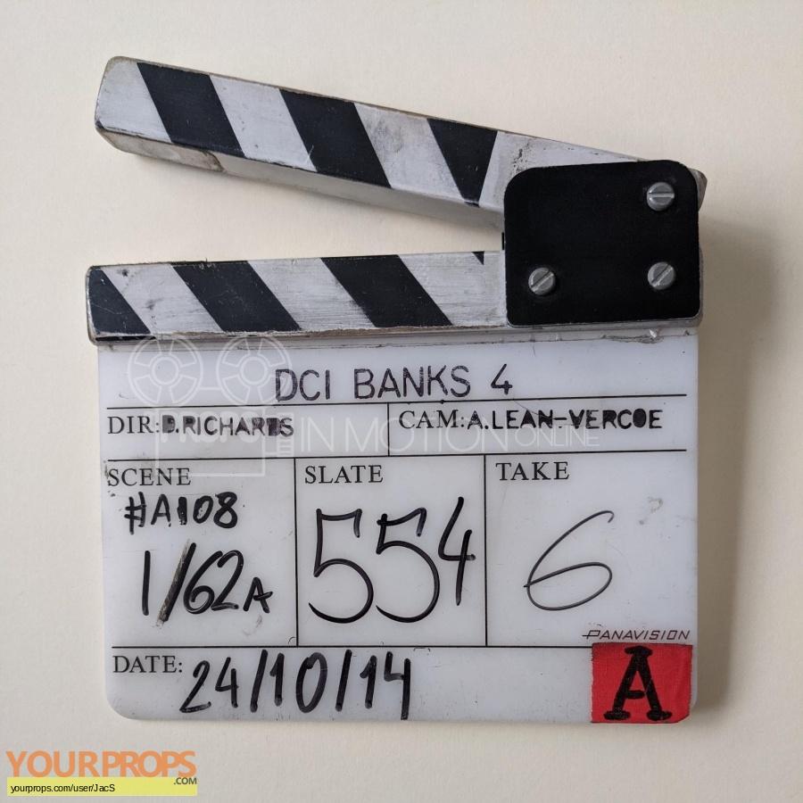 DCI Banks original production material