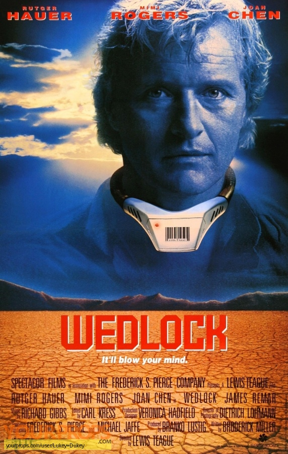 Wedlock original movie prop