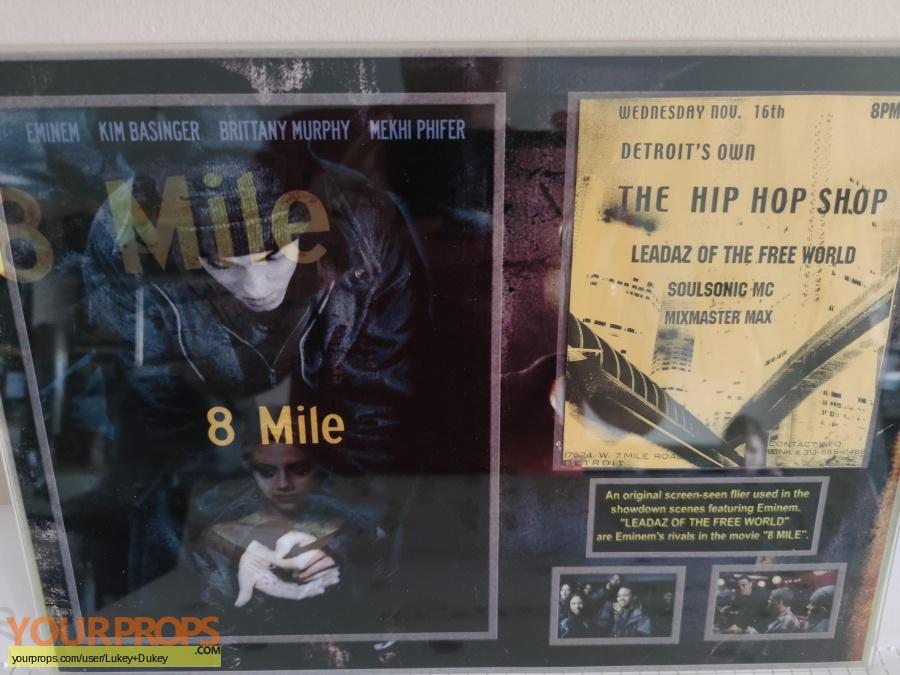 8 Mile original movie prop