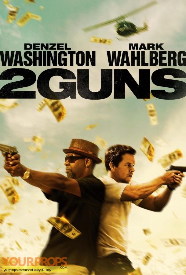 2 Guns original movie prop