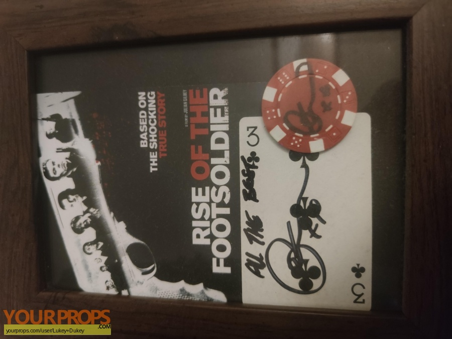 Rise of the footsoldier original movie prop