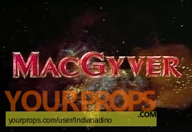 MacGyver original film-crew items