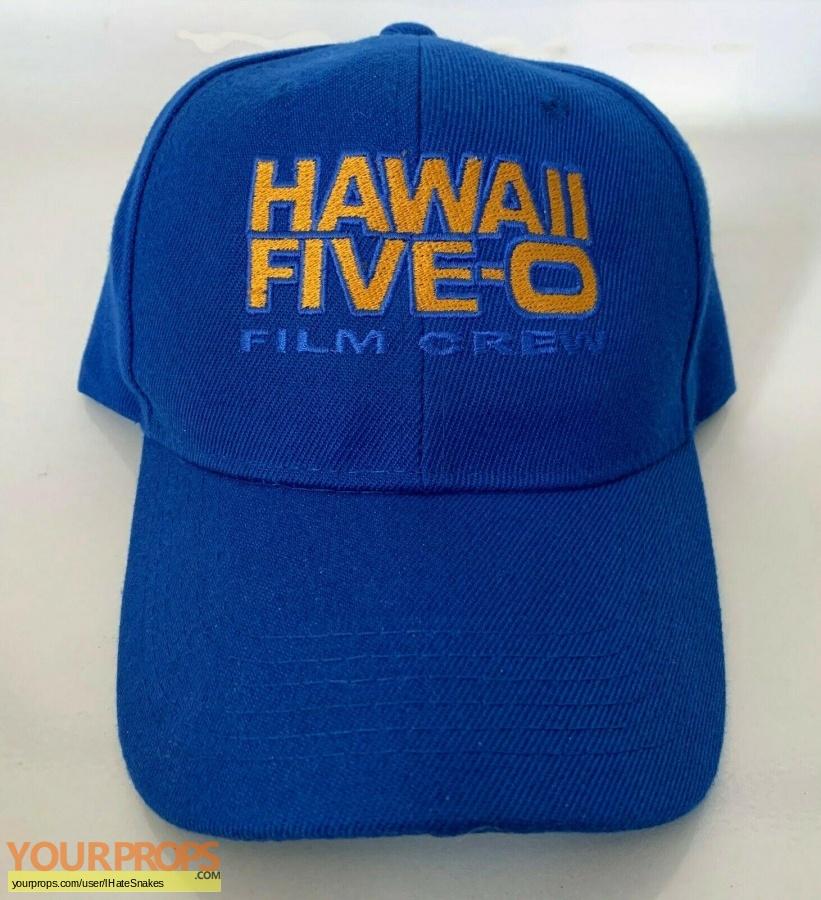 Hawaii Five-O original film-crew items