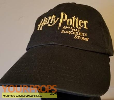 Harry Potter and the Sorcerers Stone original film-crew items