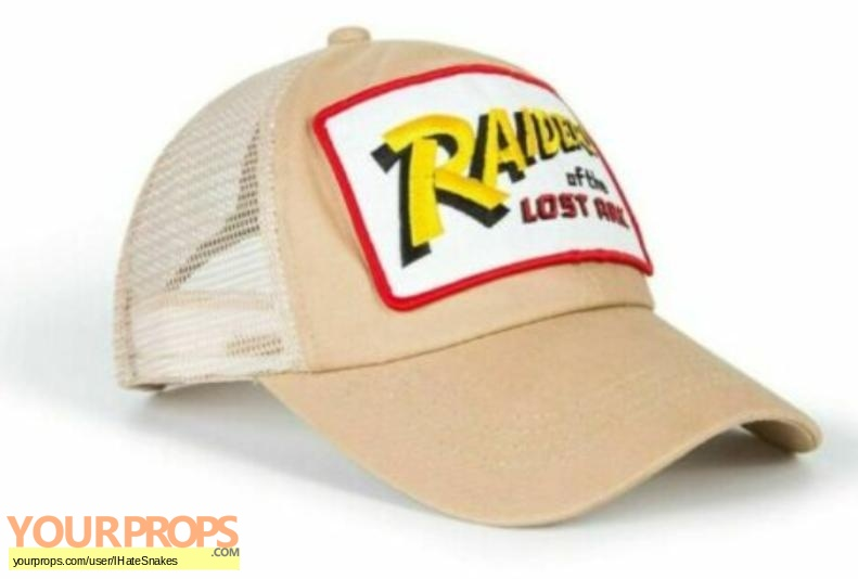 Indiana Jones And The Raiders Of The Lost Ark replica film-crew items