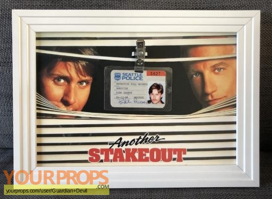 Another Stakeout original movie prop