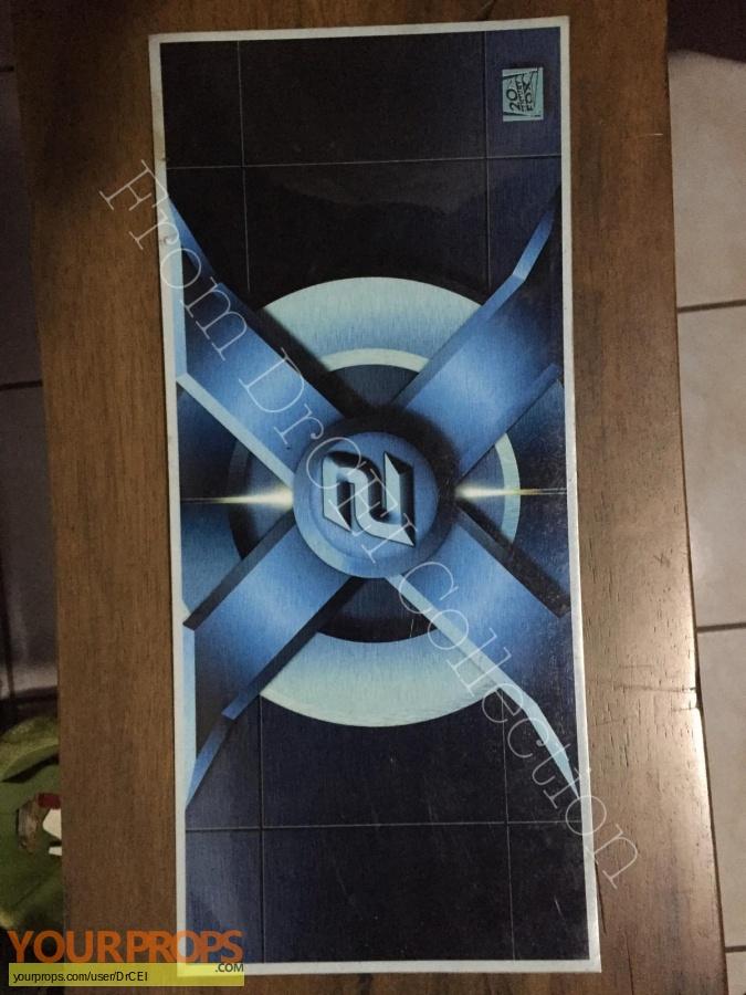 X2  X-Men United original film-crew items
