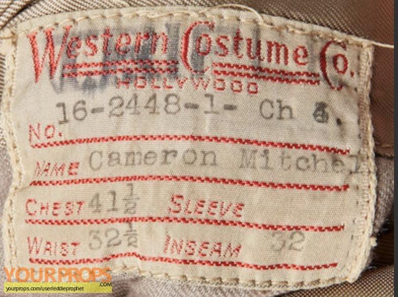 Les Miserables original movie costume