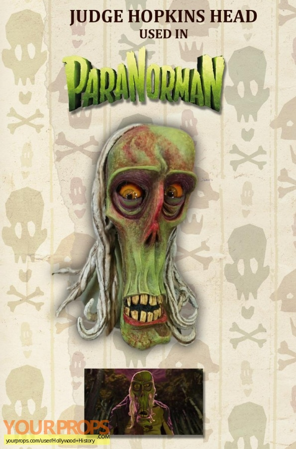 Paranorman original movie prop