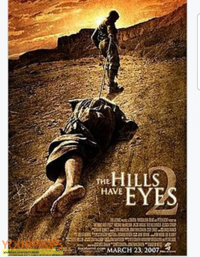 The Hills Have Eyes 2 original movie prop