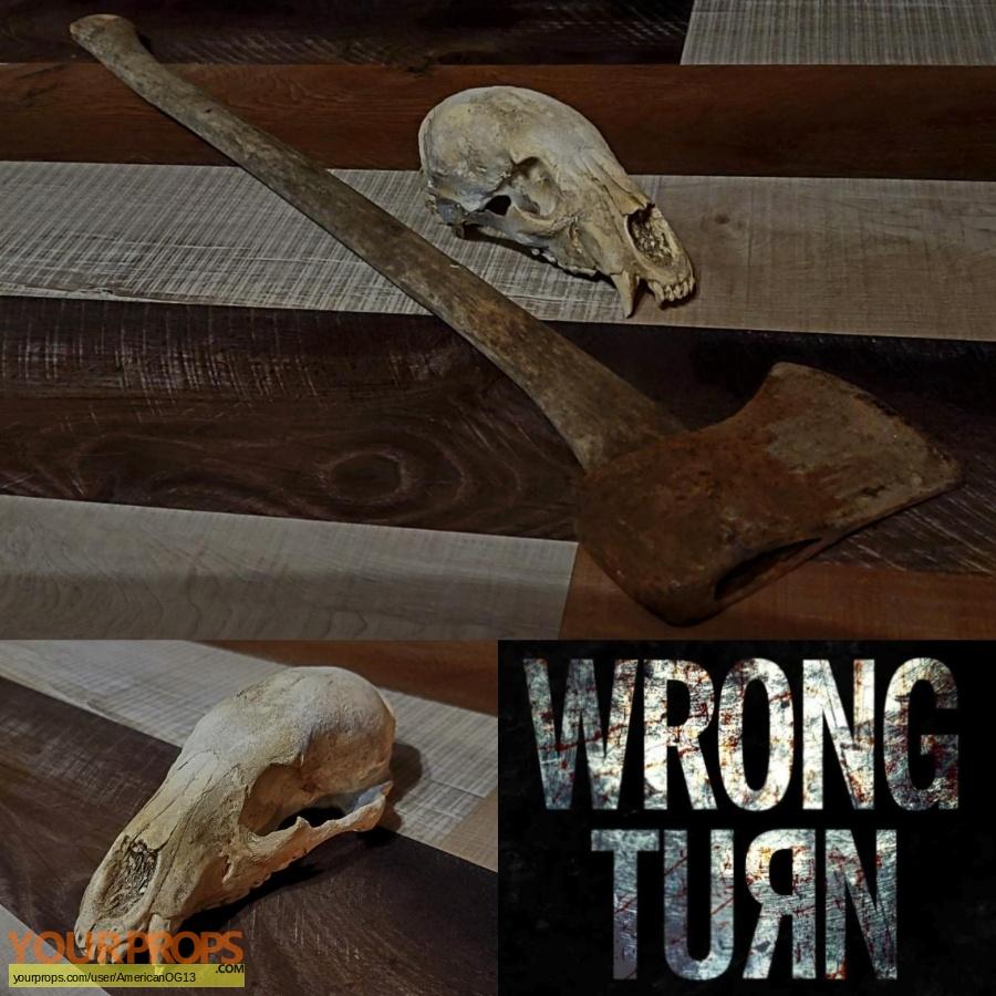 Wrong Turn original set dressing   pieces