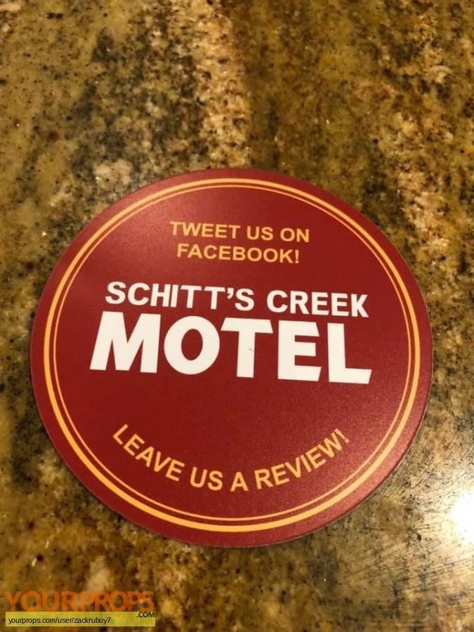 Schitts Creek original movie prop