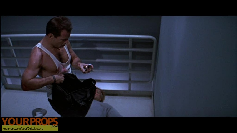 Die Hard replica movie prop