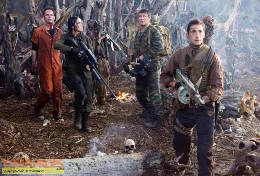 Predators original movie prop