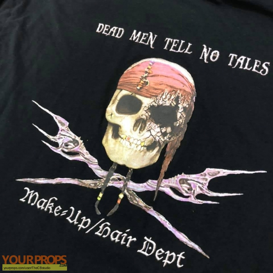 Pirates of the Caribbean  Dead Men Tell no Tales original film-crew items