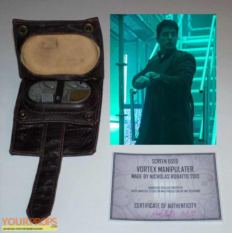 Doctor Who original movie prop