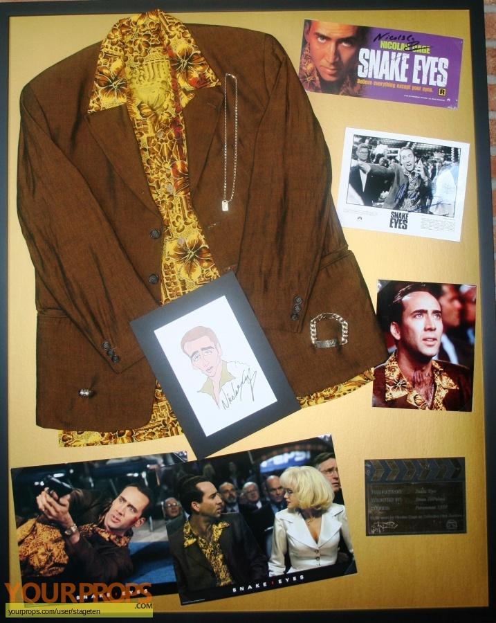 Snake Eyes original movie costume