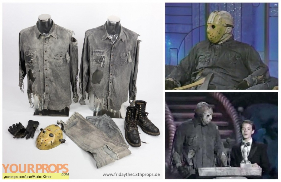 Friday the 13th  Part 8  Jason Takes Manhattan original movie costume