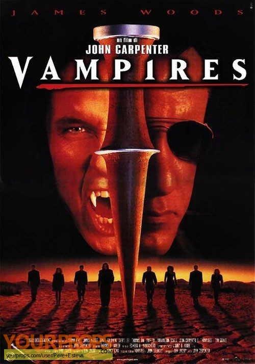 Vampires  (John Carpenters) original movie prop