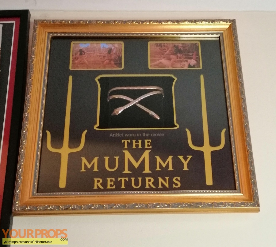 The Mummy Returns original movie costume