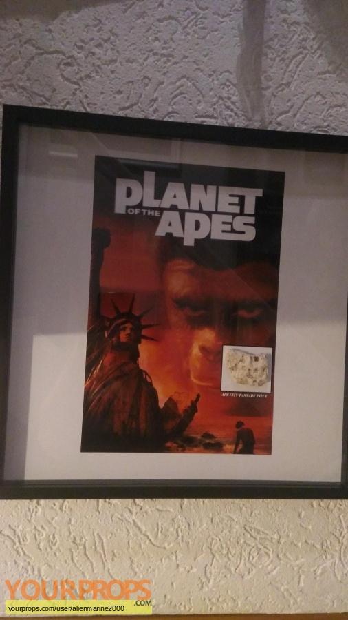 Planet of the Apes original set dressing   pieces