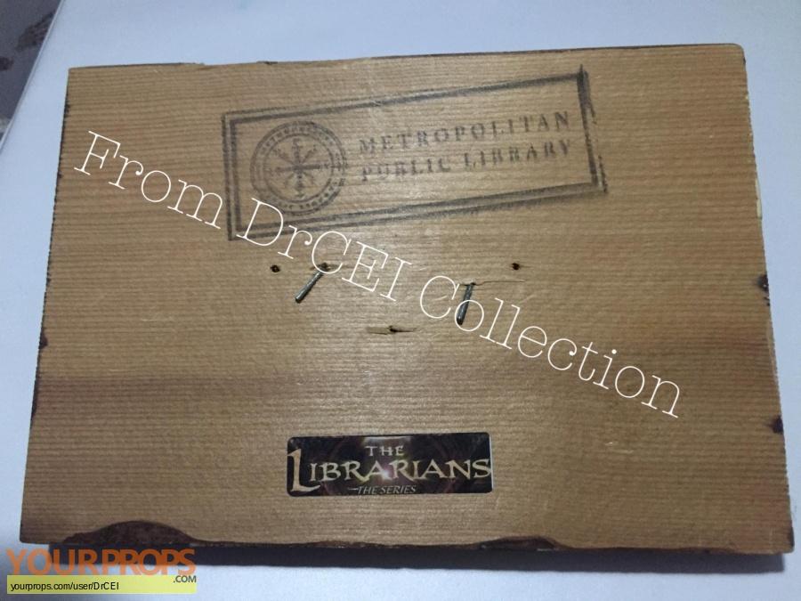 The Librarians original set dressing   pieces