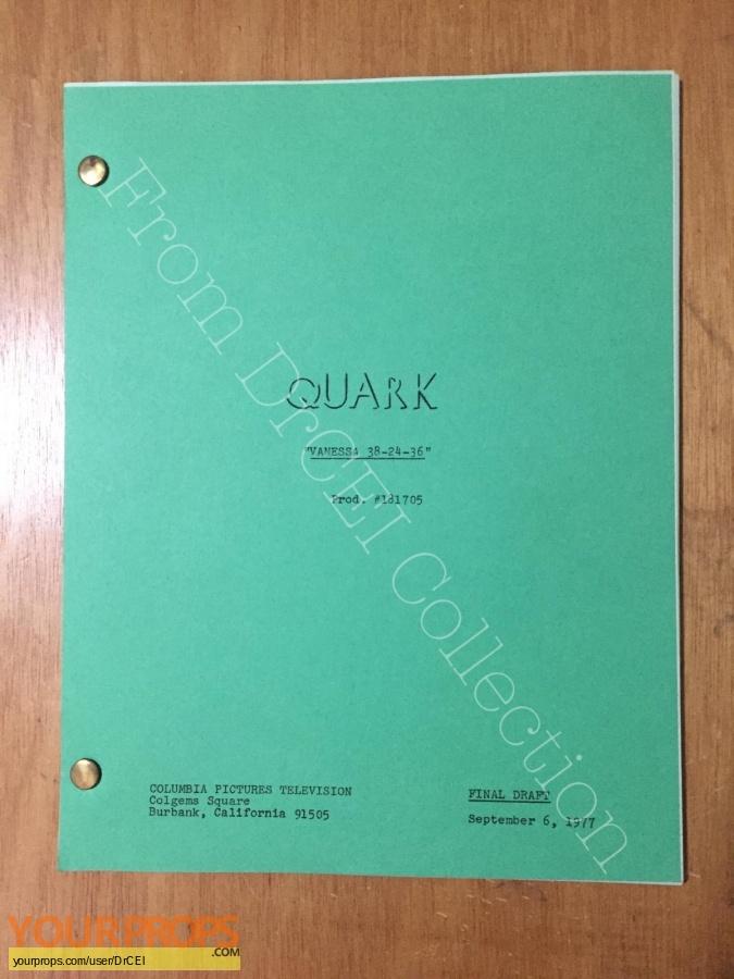 Quark original production material
