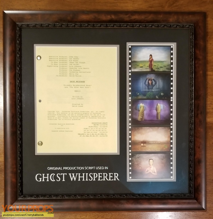Ghost Whisperer original production material