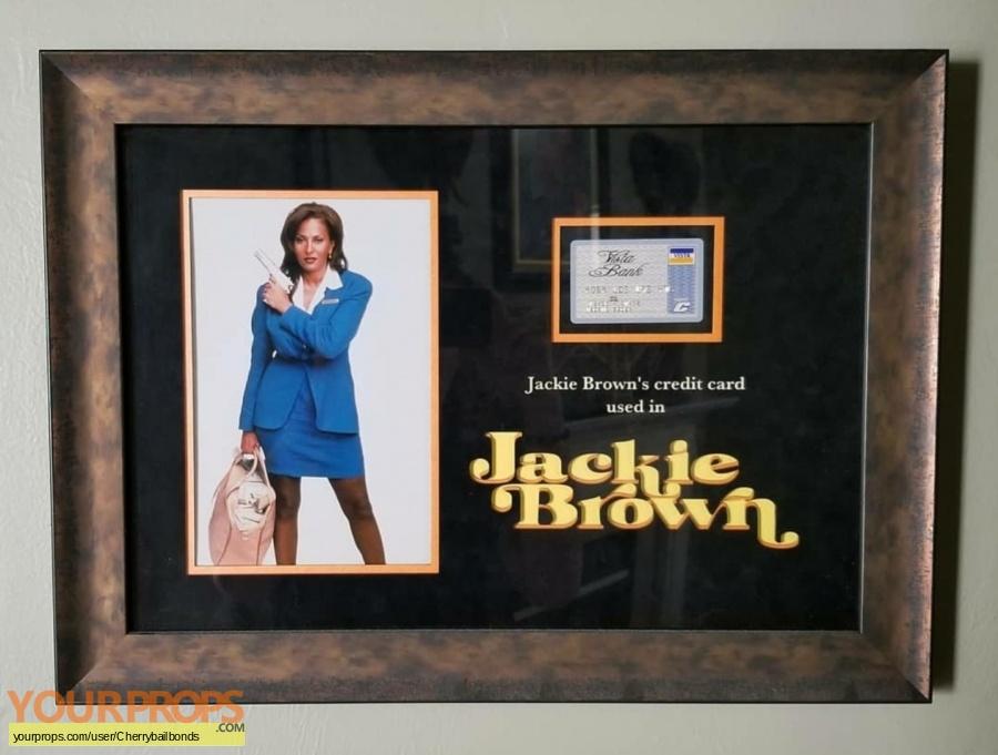 Jackie Brown original movie prop