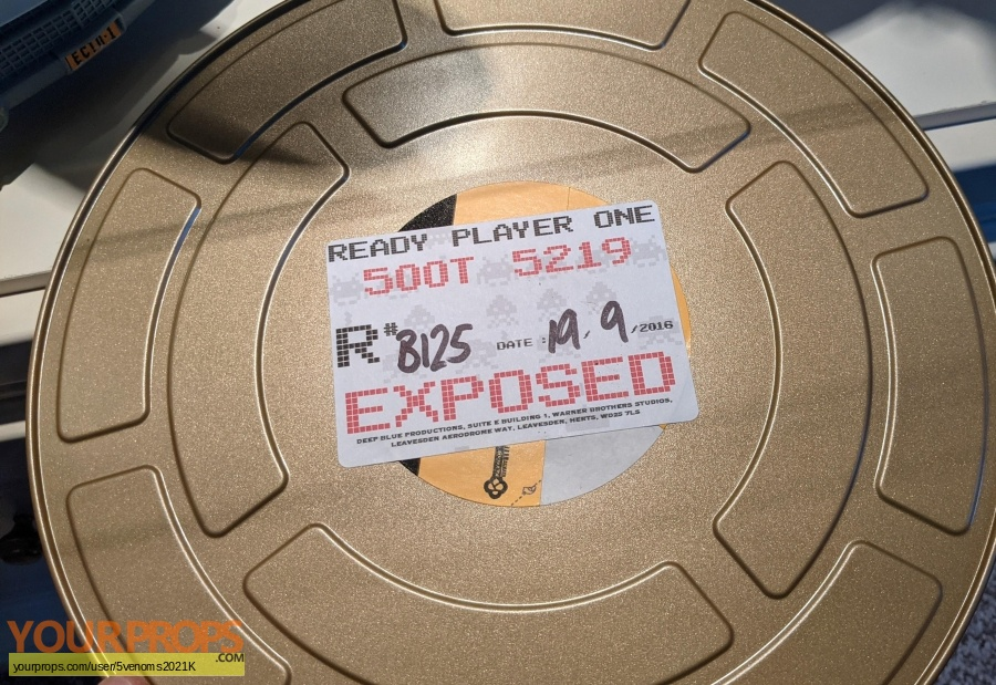 Ready Player One original film-crew items