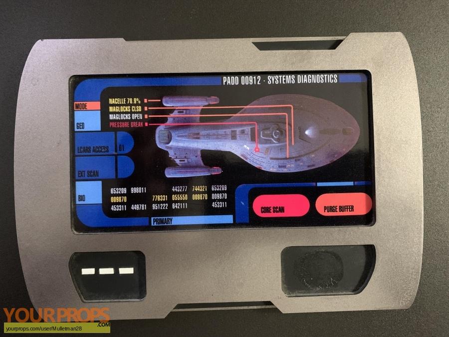 Star Trek Voyager made from scratch movie prop