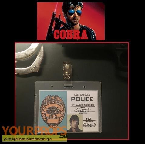 Cobra replica movie prop