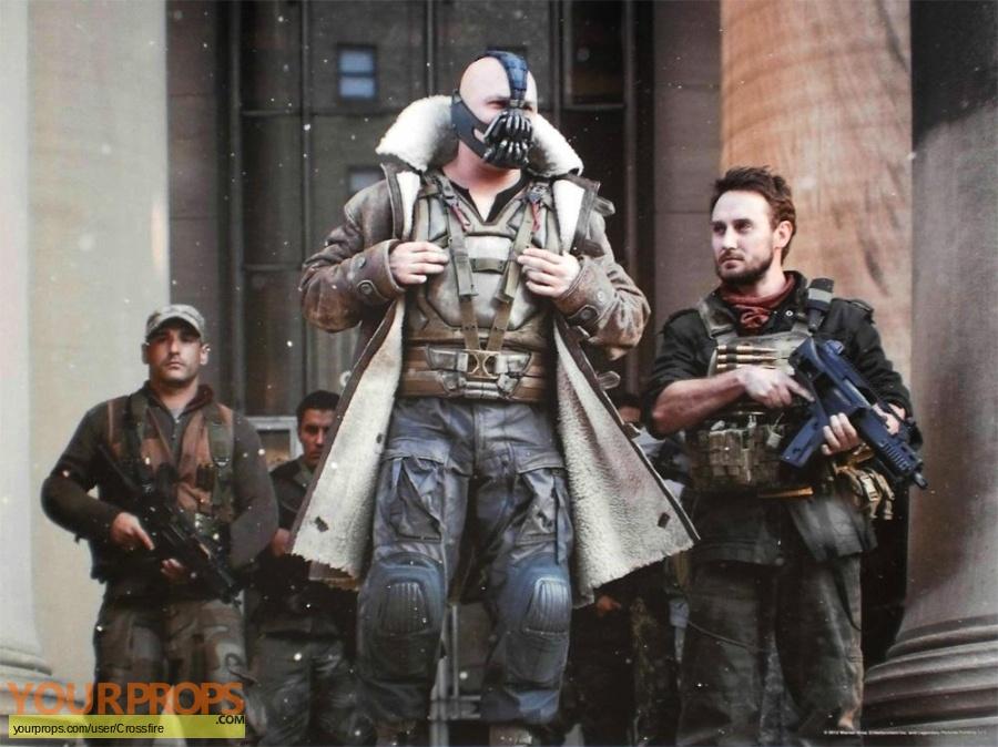 The Dark Knight Rises original movie prop weapon