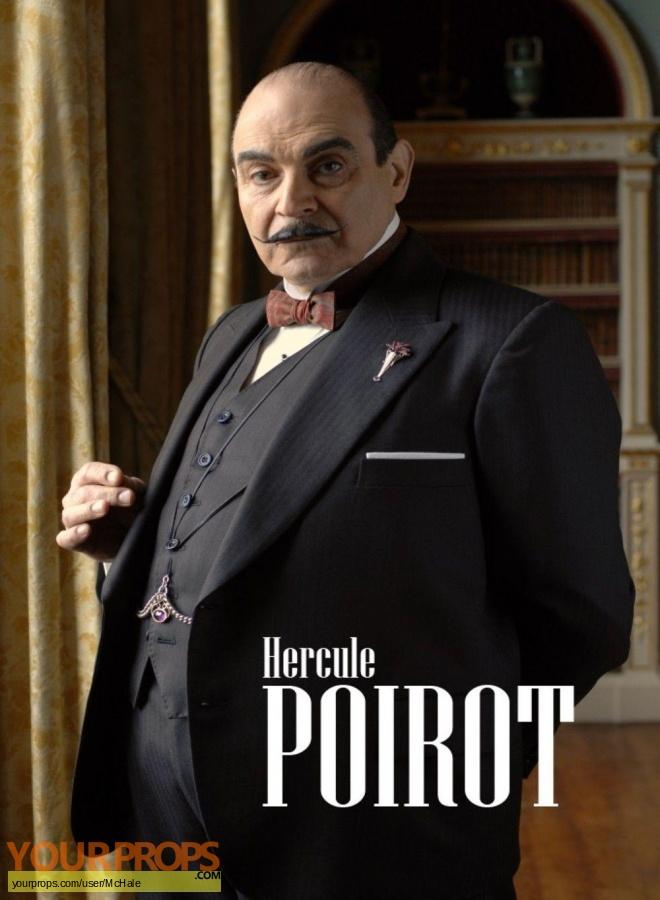 Hercule Poirot replica movie prop
