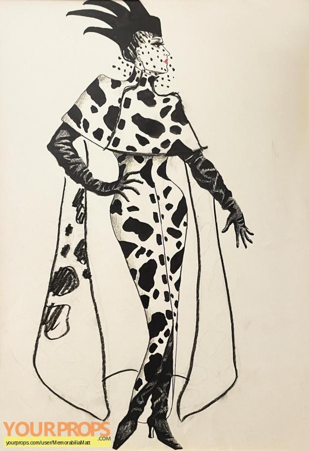 101 Dalmatians original movie prop