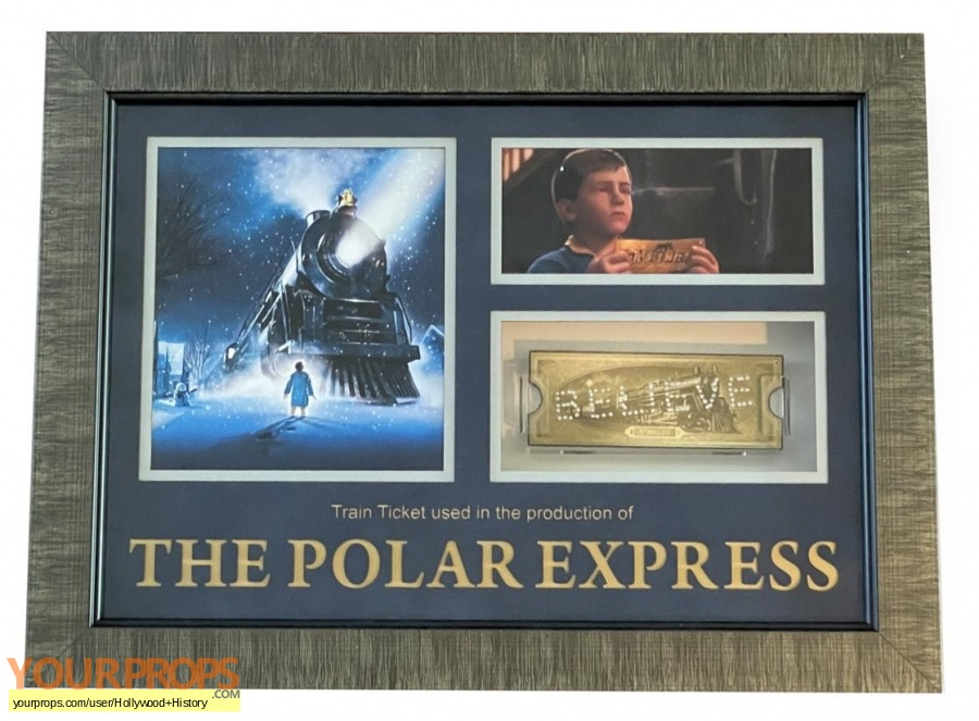 The Polar Express original movie prop