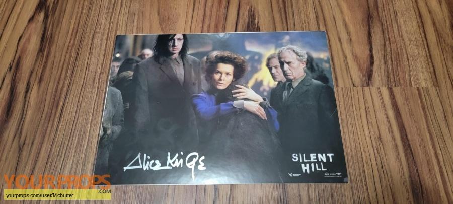 Silent Hill original production artwork