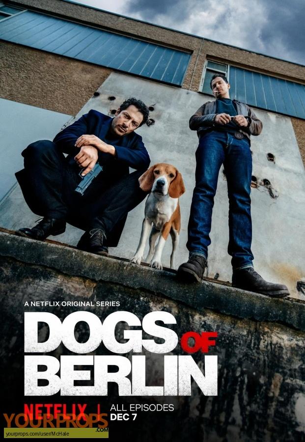 Dogs of Berlin (TV Netflix) replica movie prop