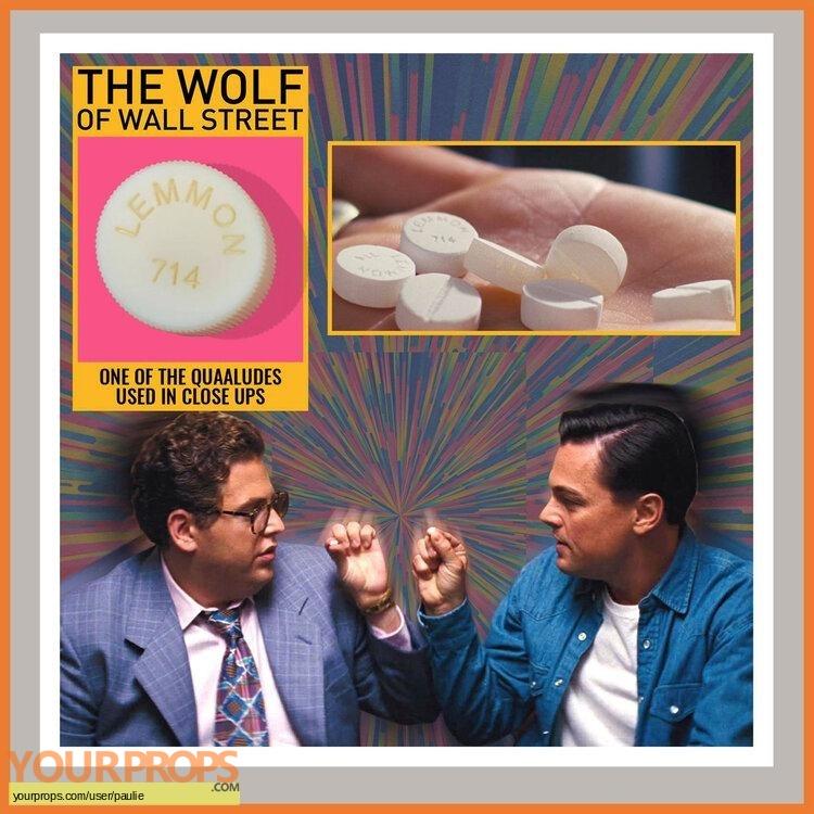 The wolf of wallstreet original movie prop