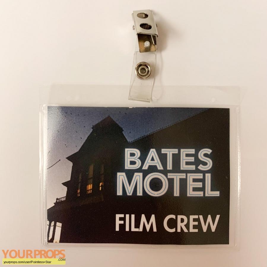 Bates Motel original film-crew items