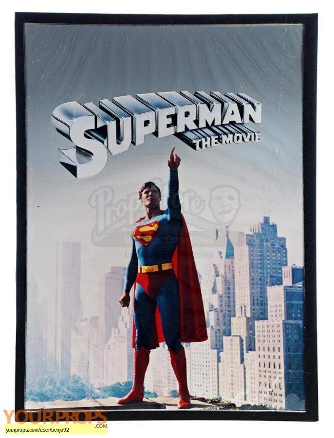 Superman original production artwork