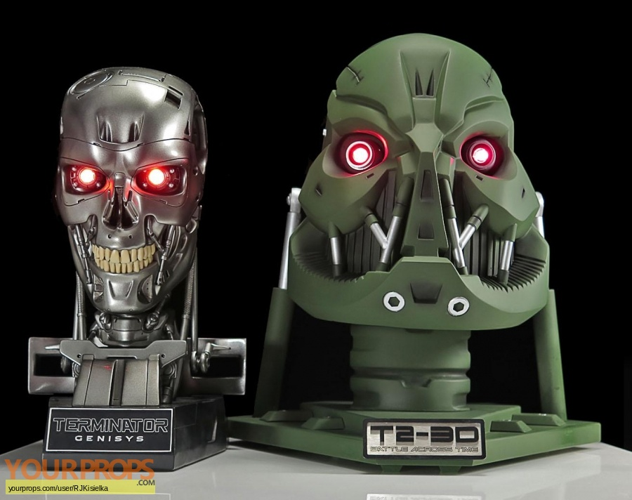 Terminator 2 3D  Battle Across Time replica movie prop weapon