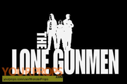The Lone Gunmen replica movie prop