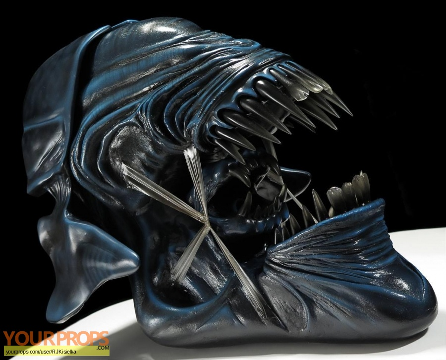 Aliens made from scratch movie prop